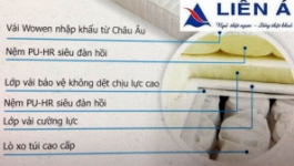 Mua đệm lò xo Liên Á chính hãng tại Hà Nội